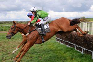 Guy Brewer White Rose Saddlery Sponsored Jockey