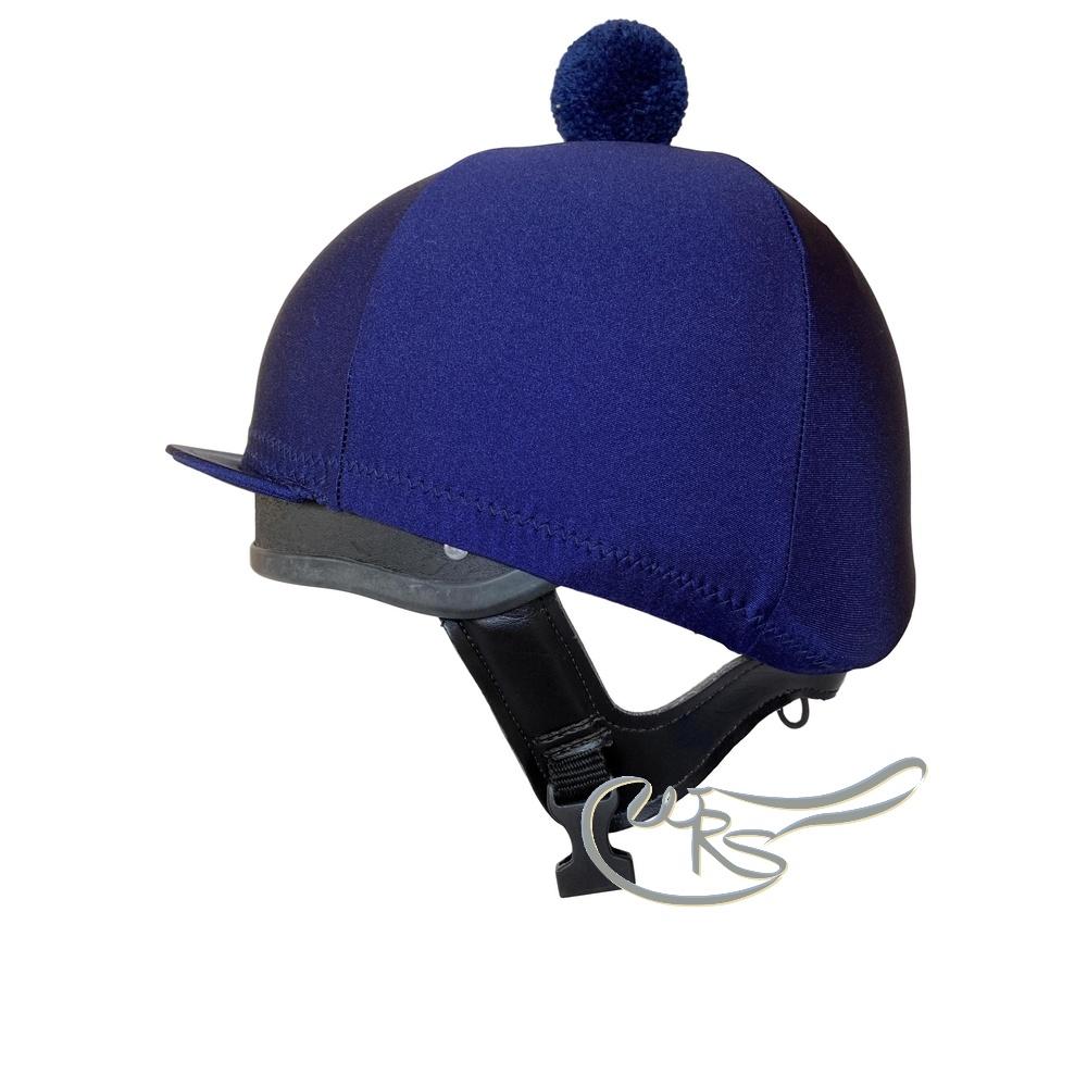 Ornella Prosperi Navy Blue Lycra Hat Cover