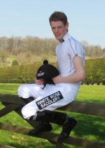 White Rose Saddlery Sponsored Jockey