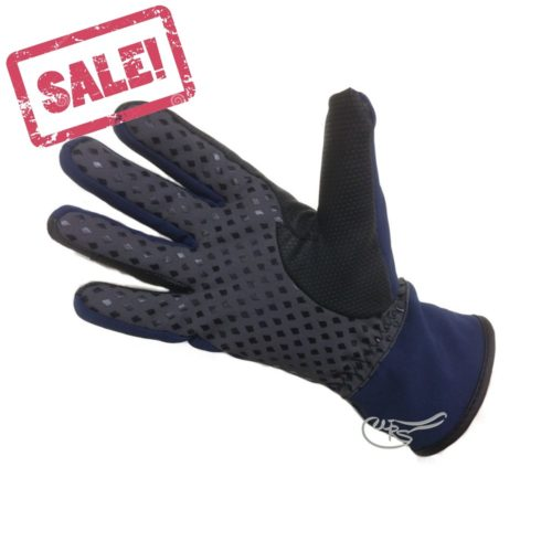 HY Waterproof Softshell Gloves, Navy Blue