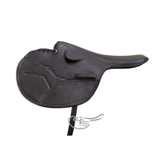 Old Mill Leather Race Saddle