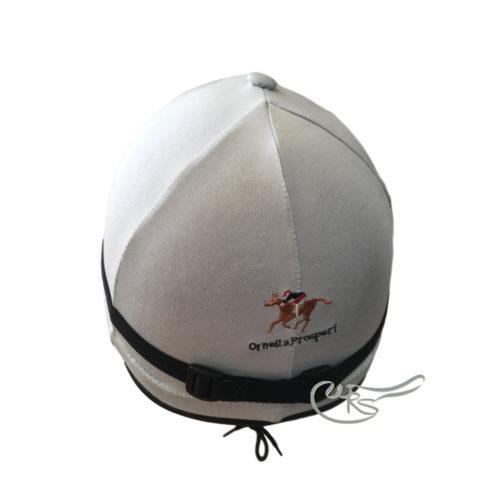 Ornella Prosperi Lycra Hat Cover, Silver
