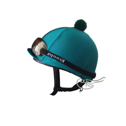 Ornella Prosperi Lycra Hat Cover, Teal Green