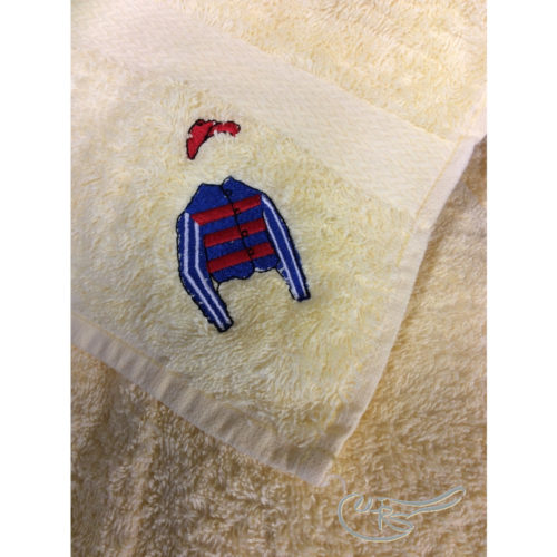 WRS Embroidered Towel