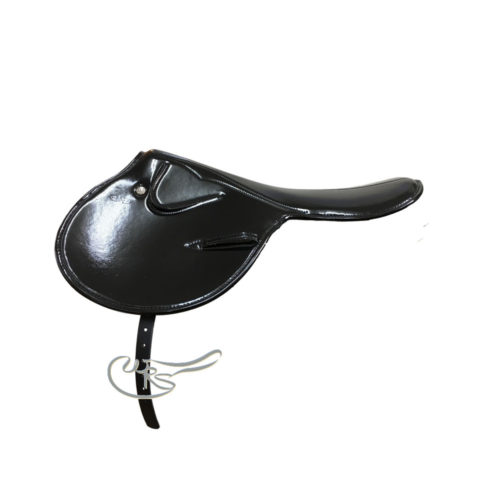 Zilco 1.0Kg Patent Race Saddle, Black
