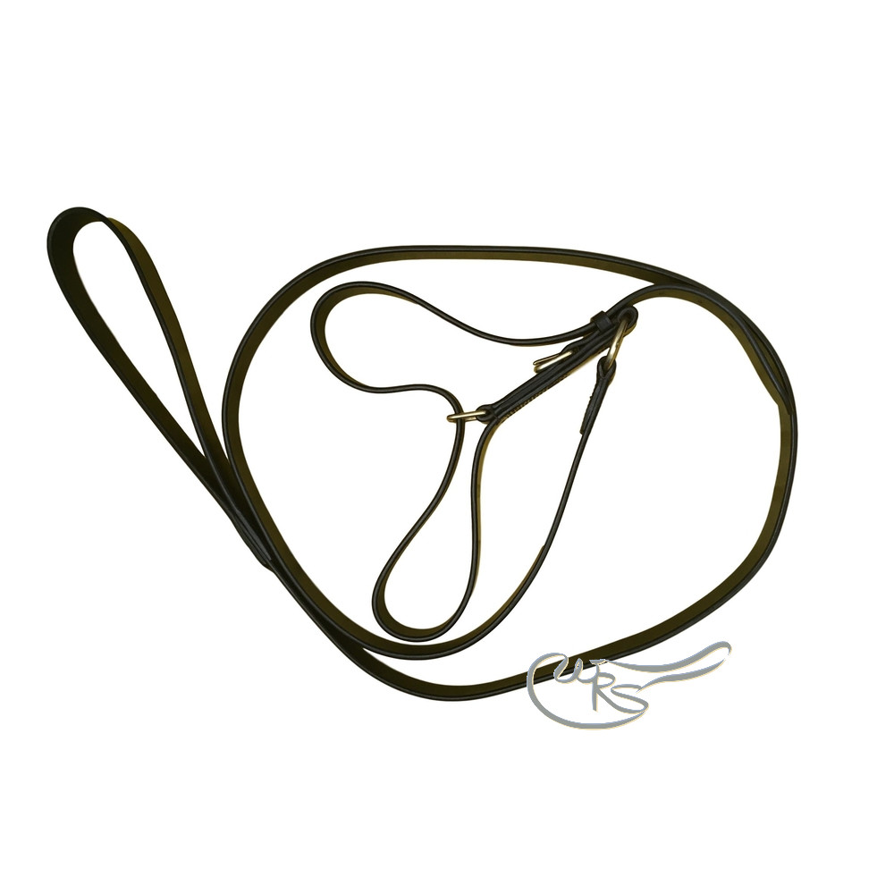 Ascot Leather Y Coupling Lead