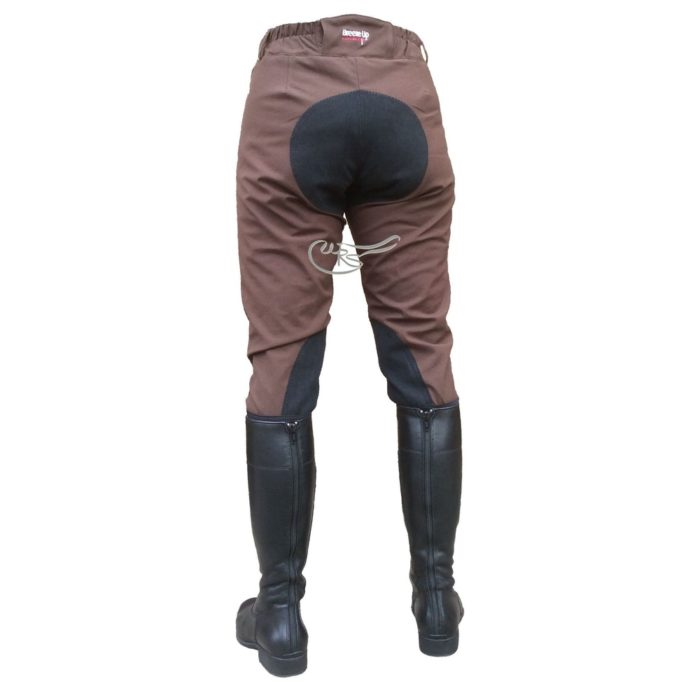 Breeze Up Cotton Breeches, Chocolate/Black