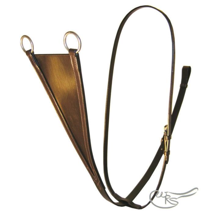 English Leather Bib Martingale