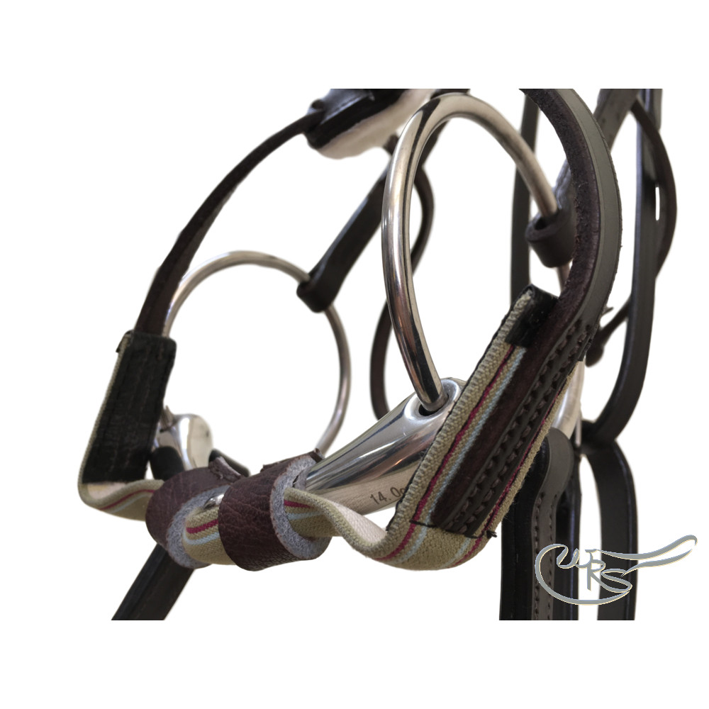 WRS English Leather George Moore Race Bridle