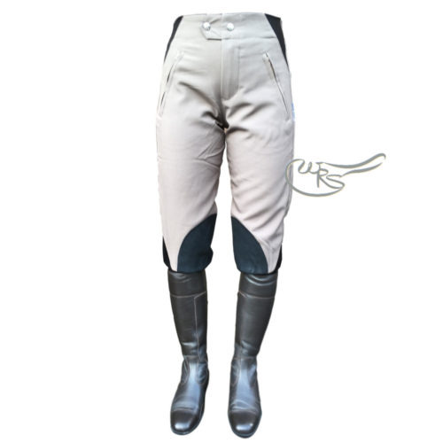 Hyland Cotton Breeches, Mouse/Black