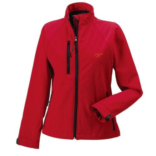 WRS Softshell Jacket, Red