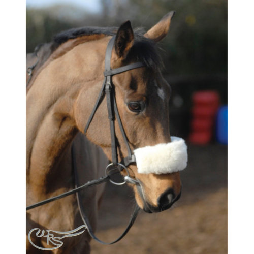 NuuMed Sheepskin Noseband, Natural