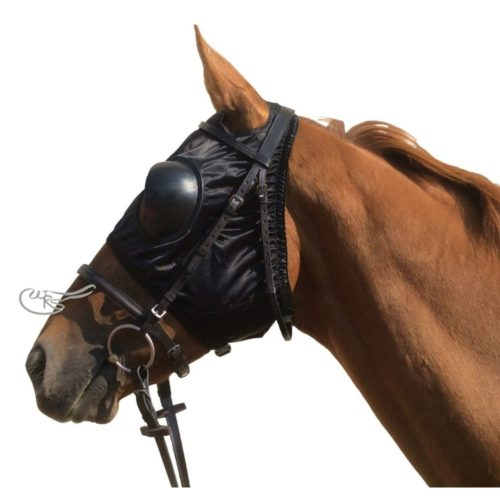 Racesafe Nylon Blinkers, Black