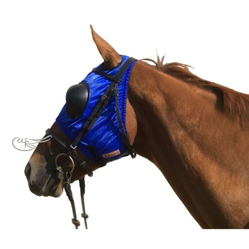 Racesafe Nylon Blinkers, Royal Blue