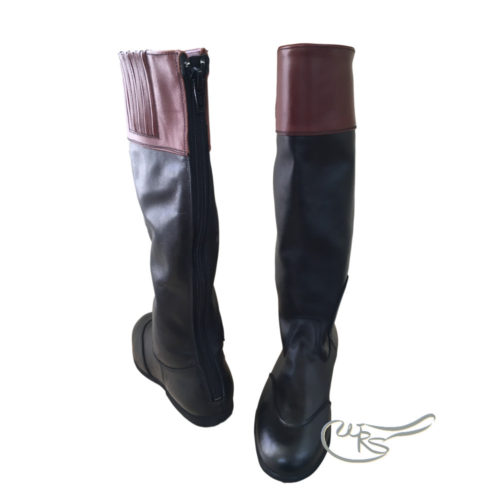 Regents Pro Jockey Leather Race Boots