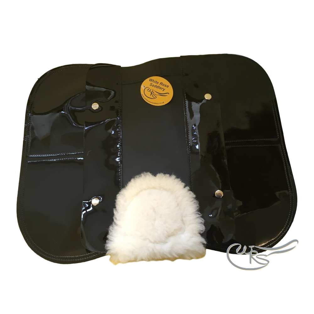 Shepherds Patent 4 Pocket Medium Weight Cloth, Black