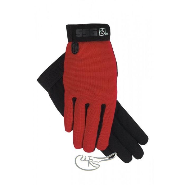 SSG ALL Weather Gloves, Red