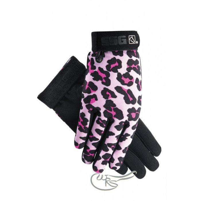 SSG All Weather Gloves, Pink Leopard