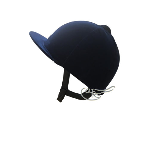 Champion Velvet Hat Cover, Navy