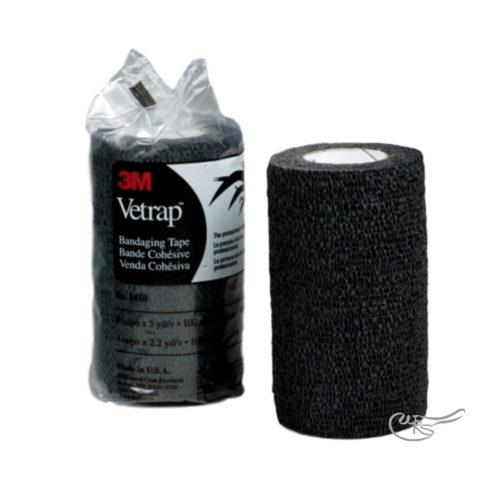 3m Vetrap Bandage, Black