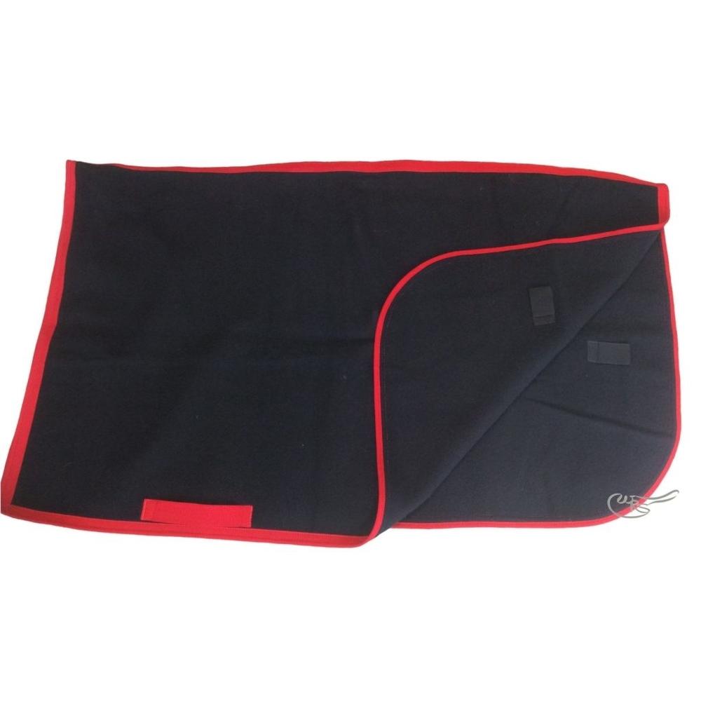 WRS 2lb Wool Exercise Sheet, Black/Red