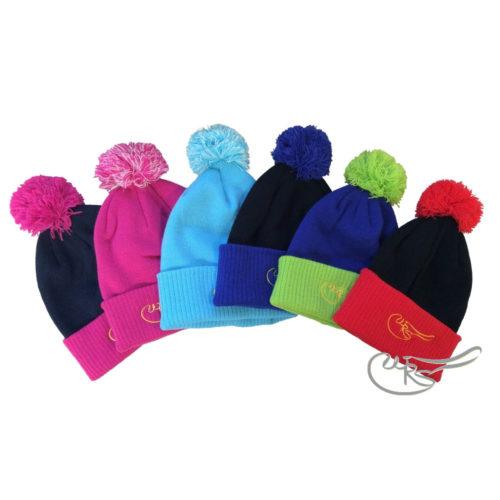 WRS Beanie Hat With Pom