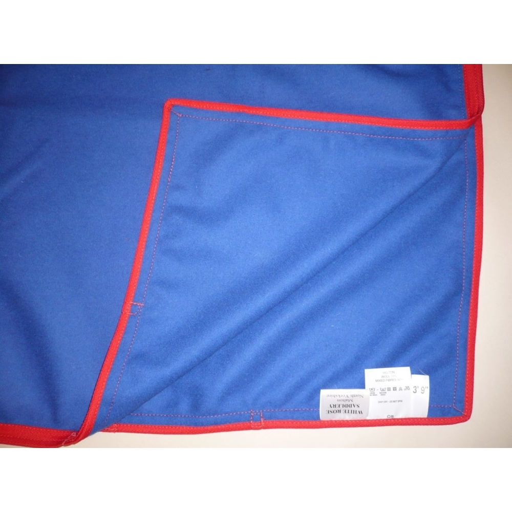 WRS Melton Exercise Sheet, Royal Blue/Red