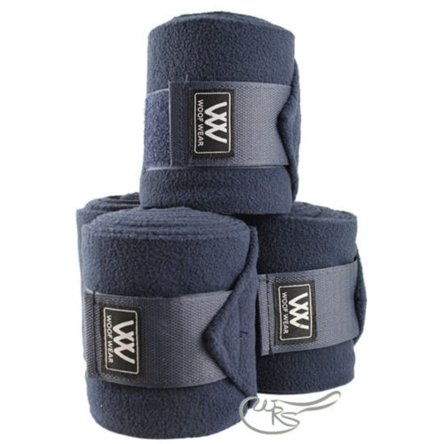Woof Wear Polo Bandages, Navy Blue