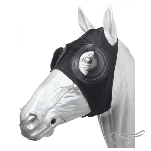 Zilco Lycra Full Cup Blinkers, Black