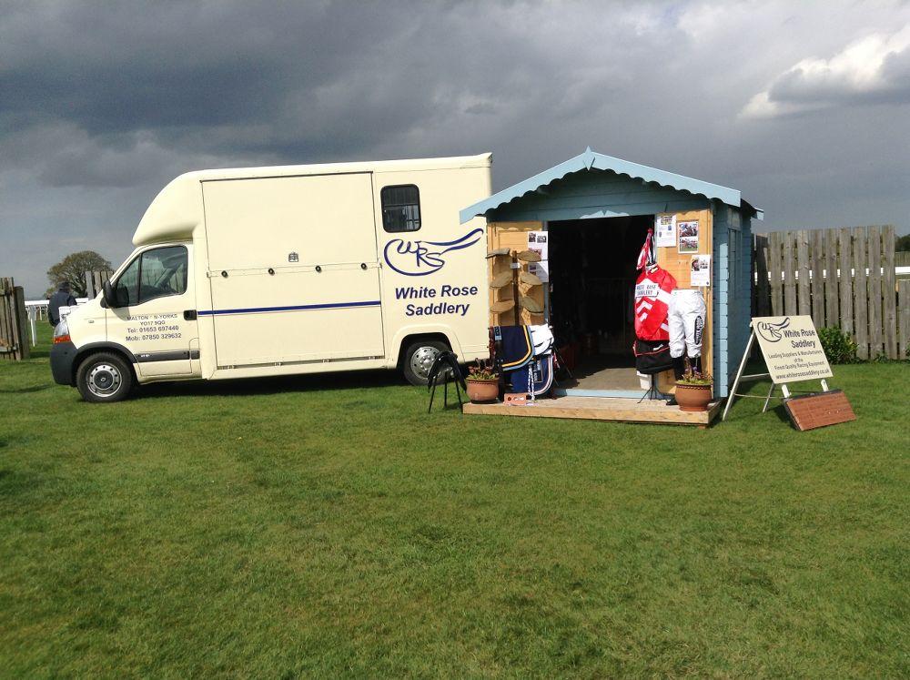 WRS satellite shop at Beverley Racecourse