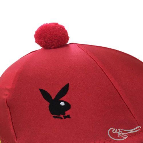 WRS Lycra Hatcover Red, Black Bunny,