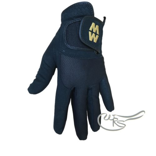 MacWet Micromesh Short Cuff Glove, Black