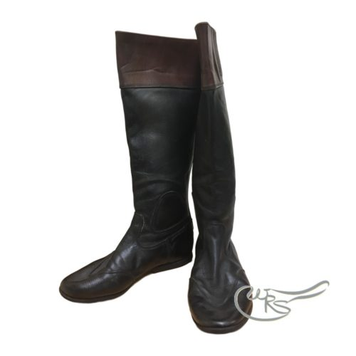 Used Regent Race Boots, Mahogany Top
