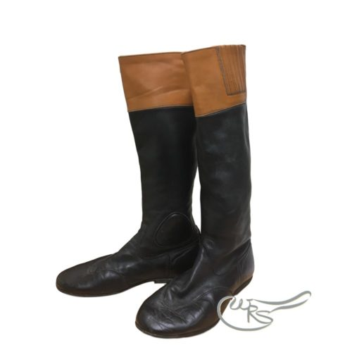 Used Regent Race Boots, Tan Tops