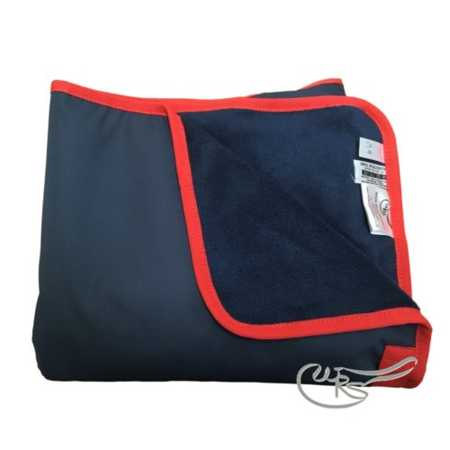 WRS Waterproof Exercise Sheet, Navy/Red