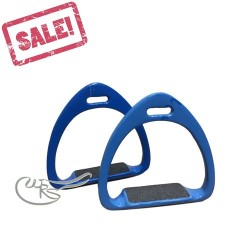 Zilco Balance Stirrups, Royal Blue