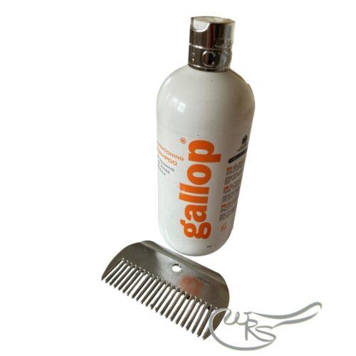 Gallop Shampoo and comb